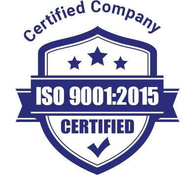 ISO Certified Company.