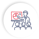 Conference Circle Icon