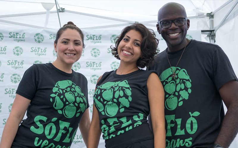 SoFlo Vegans team at Farm to Fork Fest