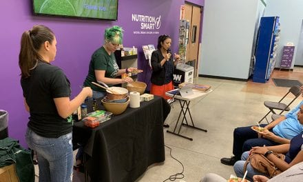 Paleo Vegan Diet Demonstration at Nutrition Smart