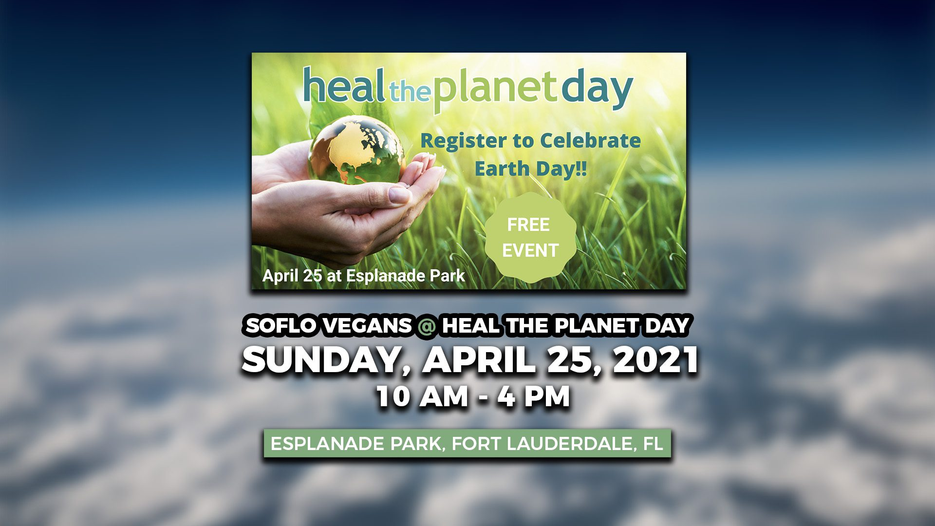 Heal the Planet Day