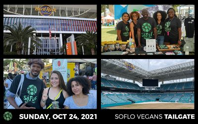 SoFlo Vegans Launches Vegan Tailgate with the Miami Dolphins